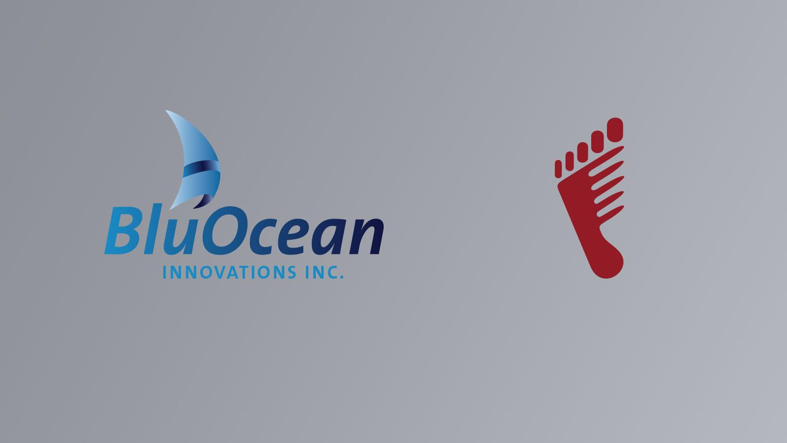 Beispiele für Logos, hier Blue Ocean und Haardesign Rothfuss