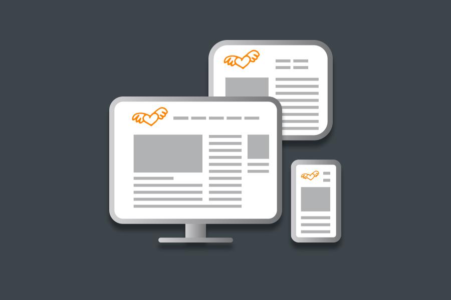 Bildschirmgössen zur Darstellung responsiver Webseiten